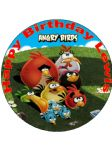7.5 Angry Birds 2 Personalised Edible Icing or Wafer Paper Cake Topper